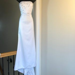 JOVANI sz 8 prom wedding formal gown cruise dress